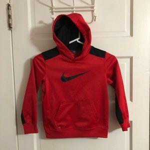 Nike Hoodie Red Black Boys 7
